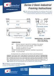 industrial garage door dimensions. Industrial Garage Door Dimensions