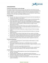 Customer Service Job Duties Resume Nguonhangthoitrang Net