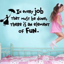 43 20 De Réductionsticker Mural Dans Chaque Travail Qui Doit être Fait Il Y A Un élément De Fun Mary Poppins Supprimer Citations