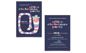 Office Holiday Party Invitation Template Office Christmas Party