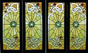 reclaimed stained glass antique the lucky design wonderful framed window panels doors birmingham