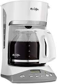 Customers who viewed this item also viewed. Amazon Com Mr Coffee 12 Cup Programmable Coffee Maker White Drip Coffeemakers Kitchen Dining