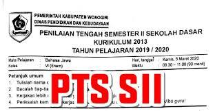 Dan dijual dengan harga rp12.500 per unit. Soal Pts Bahasa Jawa Kelas 6 Semester 2 Semester Genap Tahun Ajaran 2020 2021 Tahun Ajaran 2019 2020 Kurikulum 2013 Sekolah Dasar Islam