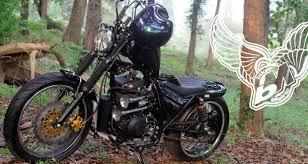 suzuki thunder 125 bobber by k kustom bikermetric