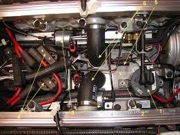 1990 1995 zr 1 secondary port vacuum diagnosis figure 8 top view plenum removed