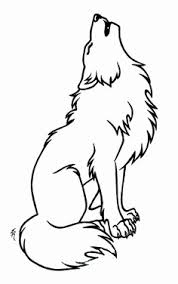 Tekening Wolf Geïnspireerd Wolf Outline To Be Zentangled Desenho