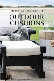 how to protect outdoor furniture. how to prep outdoor cushions for water exposure by the wood grain cottage protect furniture