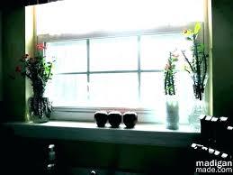 kitchen window decorations