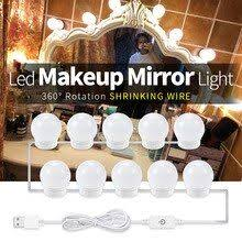 LED Makeup Vanity Light Bulb LED Adjustable Hollywood Mirror ...