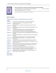 Erp Database Design Pdf Pdf Enterprise Resource Planning Global Opportunities And