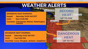 Excessive Heat Warning approaching with ...