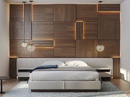wooden bed back design. Simple Wooden Give Your Bedrooms That Modern Look Wooden Wall Design Decor  To Bed Back Design Pinterest