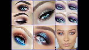 how to make blue eyes trendy makeup ideas for blue eyes