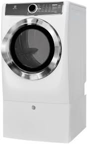 electrolux 617 series. front load perfect steam™ electric dryer with instant refresh and 9 cycles - 8.0 cu. ft. efme617siw electrolux appliances 617 series