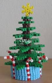 Perler Beads 3D Christmas Tree  The Chilly DogPerler Beads Christmas Tree