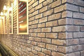 reclaimed brick veneer panels