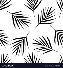 Palm Leaf Pattern Fascinating Palm Leaf Pattern Royalty Free Vector Image VectorStock