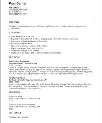 Procurement Buyer Resume Sample Top Procurement Executive Resume