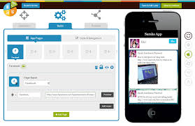 add in social networking features and check out a working app preview before you submit it to the app