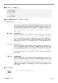 Resume Templates In Latex Full Service Writer's Relief Inc Preparing Resume Using Latex 20