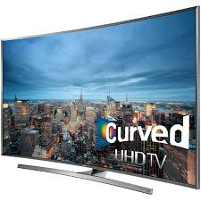samsung curved tv in living room. samsung un55ju7500 - 55-inch curved 4k 120hz ultra hd smart 3d led hdtv tv in living room