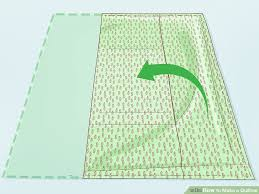 Quillow Pattern Delectable How To Make A Quillow With Pictures WikiHow