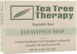 Tea Tree Therapy <b>Eucalyptus Soap</b> Vegetable Base -- <b>3.5 oz</b> - Vitacost
