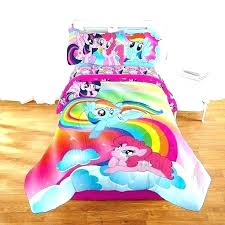 my little pony bedding set pony bedding set my le living the with regard to comforter my little pony bedding set