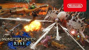 Monster hunter rise's new wirebug system is game changing for new and old players alike. Monster Hunter Rise La Calamite Nintendo Switch Youtube
