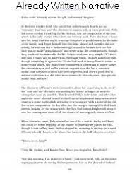 Childhood Essays Already Written Narrative Essays About Childhood