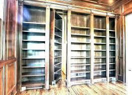 bookcase door bookcases t bookshelf passage with large size of diy barn doors build view
