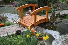 diy how to build a small garden bridge