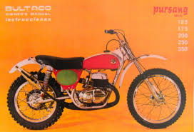 automotive bultaco pursang mk4
