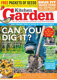 garden magazine. Brilliant Magazine Title Cover Preview Kitchen Garden Magazine Intended
