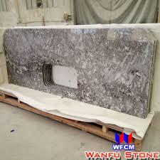 antico cream kitchen prefab granite countertops
