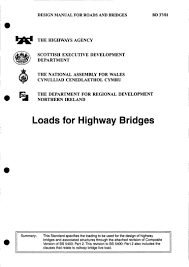 Design Manual For Roads And Bridges Volume 2 Roy Belton Design Manual For Roads And Bridges Loads For