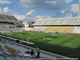 bobby dodd stadium section 102 view