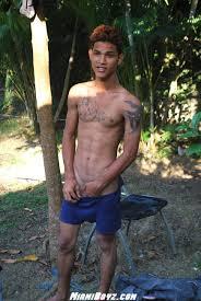 Young latino gay boy