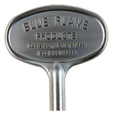 universal gas valve key in satin chrome