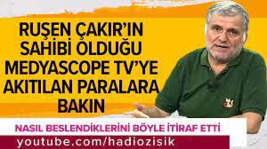Hadi Özışık - Ruşen Çakır'ın sahibi olduğu Medyascope Tv'ye akıtılan  paralara bakın!