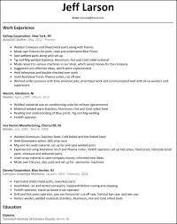 Marvelous Idea Welder Resume 10 Welder Resume Resume Example