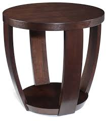 magnussen t1579 sotto wood round end table