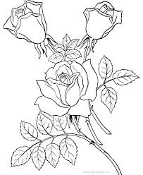 Coloring Book Pages Flowers Printable Coloring Pages Flowers