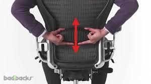 Herman Miller Aeron Chair Adjusting Guide - YouTube