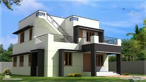 Modern Simple Portico Designs Modern House Design In 1700 Sq Feet Small Modern House
