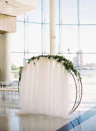 indoor wedding arches. nautical meets chic style for this romantic indoor celebration. ceremony archwedding wedding arches a