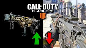 Black Ops 4 Strobe Light All Weapon Buffs And Nerfs In Black Ops 4 V1 04 Game Update