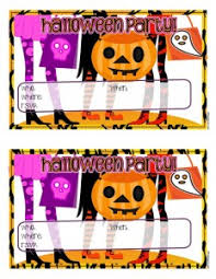 printable invitations for kids free printable halloween party invitations for kids teens woo