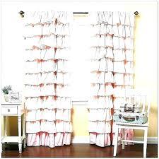 purple ruffle shower curtain pink hot light and ru