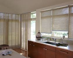 Patterned Blinds For Kitchen Choosing The Right Kitchen Window Treatments Interior Design